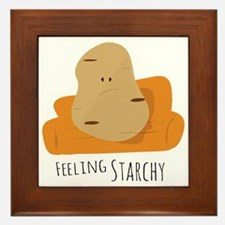 Feeling Starchy Framed Tile
