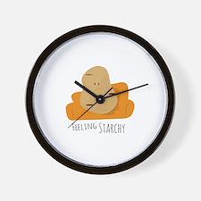 Feeling Starchy Wall Clock