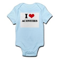 I Love Activities Body Suit