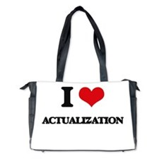 I Love Actualization Diaper Bag