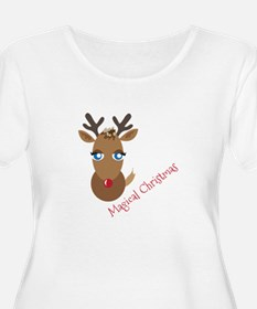 Magical Christmas Plus Size T-Shirt