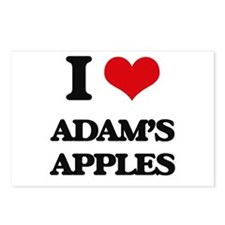 I Love Adam'S Apples Postcards (Package of 8)