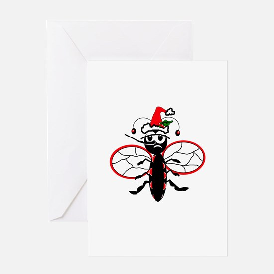 Bah Humbug Greeting Cards