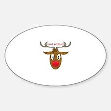 Lead Reindeer Decal