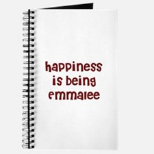 happiness is being Emmalee Journal