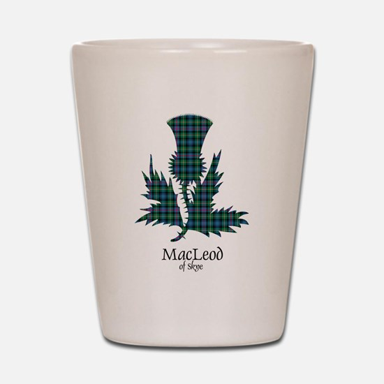 Thistle-MacLeodSkye Shot Glass