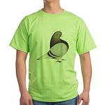 Brown Bar Flight Green T-Shirt