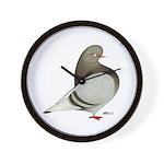 Brown Bar Flight Wall Clock