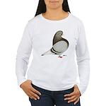Brown Bar Flight Women's Long Sleeve T-Shirt