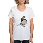 Brown Bar Flight Women's V-Neck T-Shirt