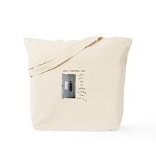 Control Box Tote Bag
