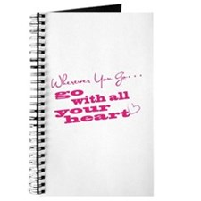 Wherever You Go Go With All Your Heart Journal
