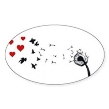 Dandelion Love Decal