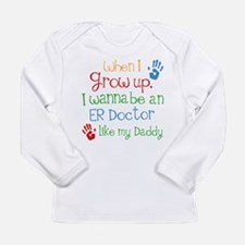 Future ER Doctor Long Sleeve Infant T-Shirt