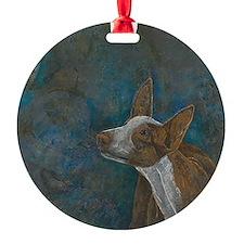 Cute Ibizan hounds Ornament