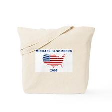 MICHAEL BLOOMBERG 2008 (US Fl Tote Bag
