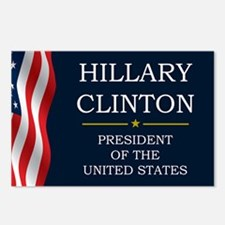 Hillary Clinton President Postcards (Package of 8)