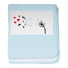 Dandelion Love baby blanket