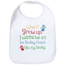 Future Ice Hockey Coach Bib