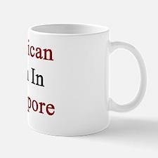 American Born In Singapore  Mug
