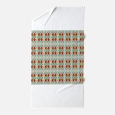 Argyle Diamond Pattern Beach Towel