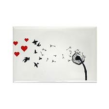 Dandelion Love Magnets