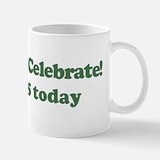 Lets Celebrate I am 5 Mug