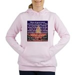 JEFFERSON'S WARNING ON G Women's Hooded Sweatshirt
