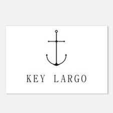 Key Largo Sailing Anchor Postcards (Package of 8)
