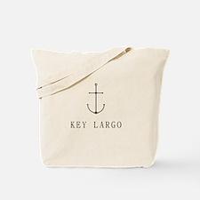 Key Largo Sailing Anchor Tote Bag