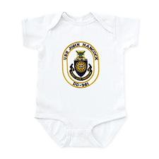 USS JOHN HANCOCK Infant Bodysuit