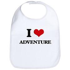 I Love Adventure Bib