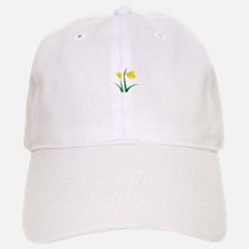 Yellow Flowers Baseball Baseball Baseball Cap