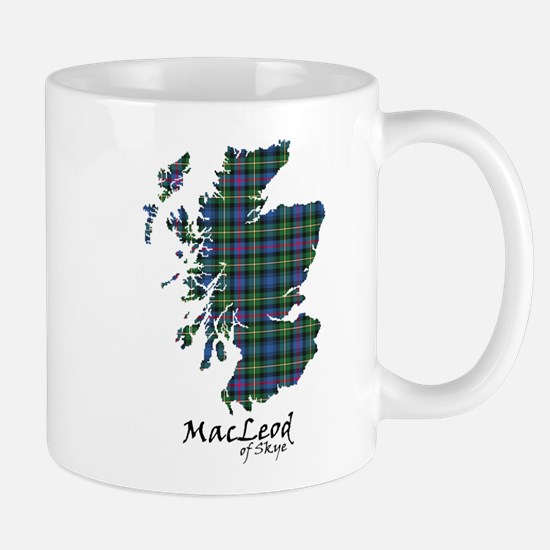 Map-MacLeodSkye Mug