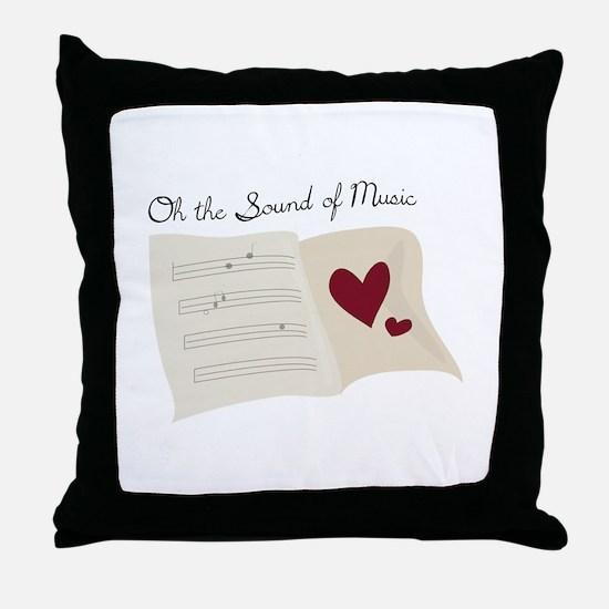 Sound of Music Throw Pillow