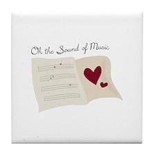 Sound of Music Tile Coaster