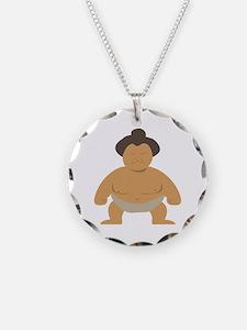 Sumo Wrestler Necklace