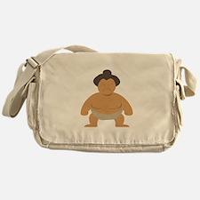 Sumo Wrestler Messenger Bag