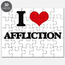 I Love Affliction Puzzle