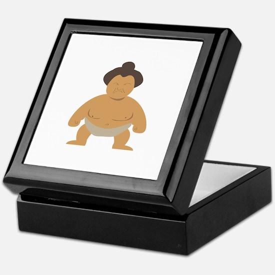 Sumo Wrestler Keepsake Box