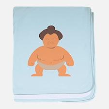 Sumo Wrestler baby blanket