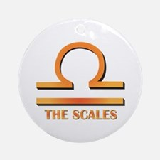 The Scales Ornament (Round)