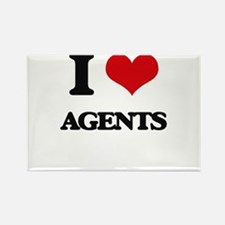 I Love Agents Magnets