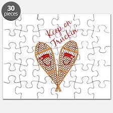 Keep Truckin Puzzle