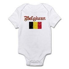Belgian Flag Infant Bodysuit