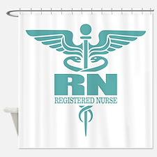 Caduceus RN (g) Shower Curtain