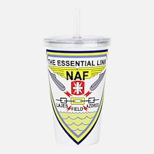 US NAVAL AIR LAJES AZO Acrylic Double-wall Tumbler