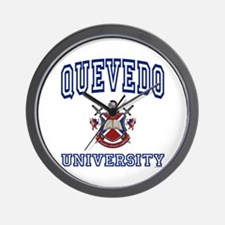 QUEVEDO University Wall Clock