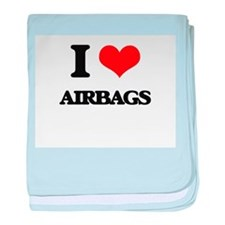 I Love Airbags baby blanket