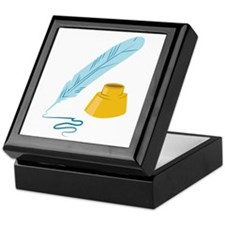 Quill & Ink Keepsake Box